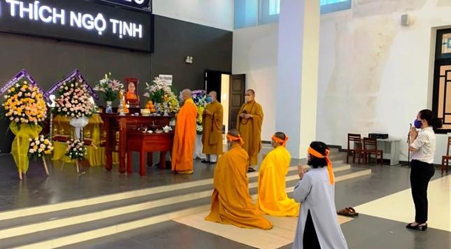 Khánh Hòa: Cung thỉnh kim quan Hòa thượng Thích Ngộ Tịnh trà-tỳ ảnh 1