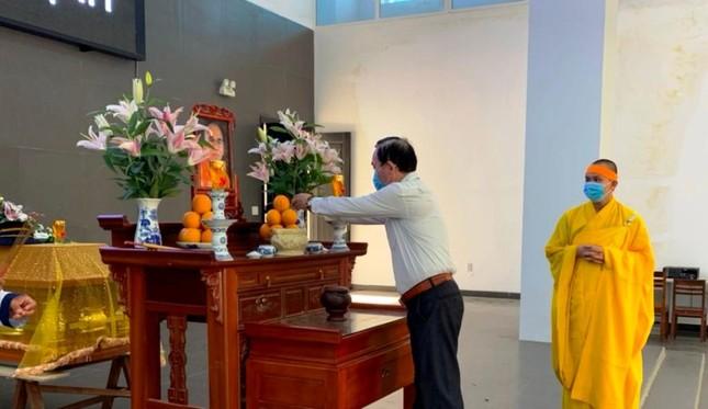 Khánh Hòa: Cung thỉnh kim quan Hòa thượng Thích Ngộ Tịnh trà-tỳ ảnh 5