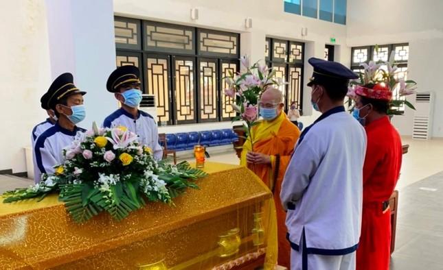 Khánh Hòa: Cung thỉnh kim quan Hòa thượng Thích Ngộ Tịnh trà-tỳ ảnh 6