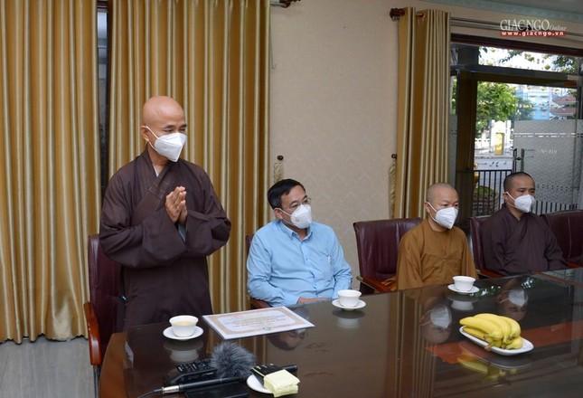 Ban Trị sự GHPGVN TP.HCM thăm các chùa Vĩnh Nghiêm, Giác Ngộ, Tường Nguyên, Nam Thiên Nhất Trụ ảnh 9