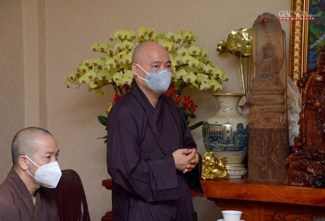Ban Trị sự GHPGVN TP.HCM thăm các chùa Vĩnh Nghiêm, Giác Ngộ, Tường Nguyên, Nam Thiên Nhất Trụ ảnh 11