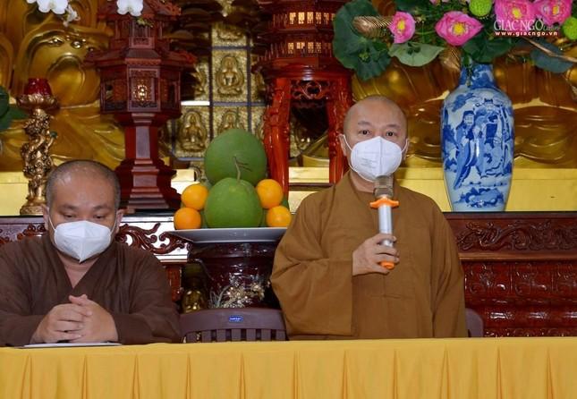 Ban Trị sự GHPGVN TP.HCM thăm các chùa Vĩnh Nghiêm, Giác Ngộ, Tường Nguyên, Nam Thiên Nhất Trụ ảnh 16