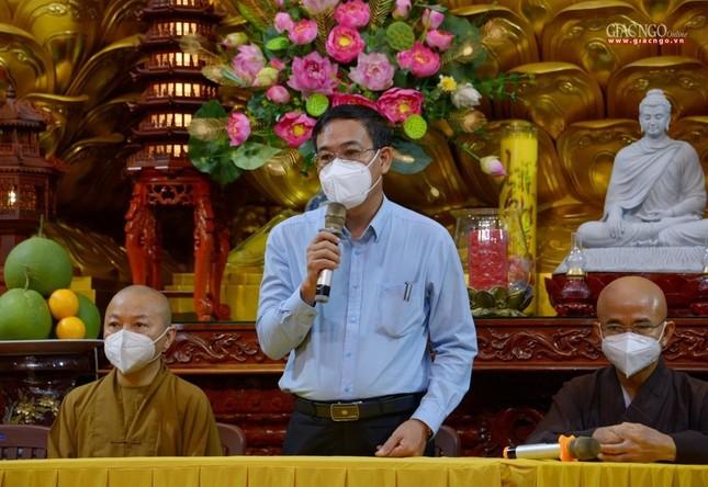Ban Trị sự GHPGVN TP.HCM thăm các chùa Vĩnh Nghiêm, Giác Ngộ, Tường Nguyên, Nam Thiên Nhất Trụ ảnh 17