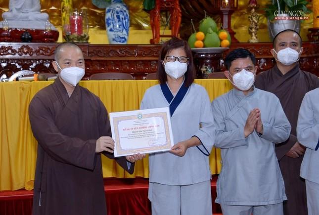 Ban Trị sự GHPGVN TP.HCM thăm các chùa Vĩnh Nghiêm, Giác Ngộ, Tường Nguyên, Nam Thiên Nhất Trụ ảnh 19