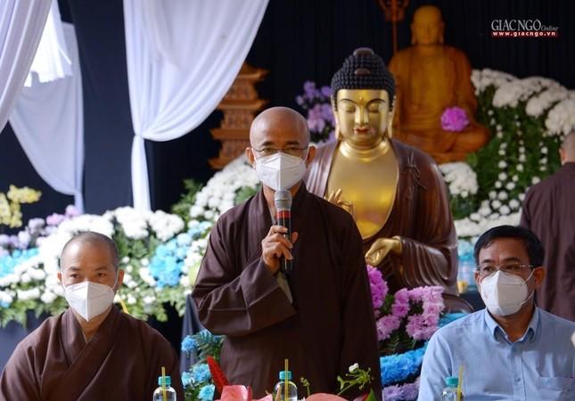 Ban Trị sự GHPGVN TP.HCM thăm các chùa Vĩnh Nghiêm, Giác Ngộ, Tường Nguyên, Nam Thiên Nhất Trụ ảnh 23