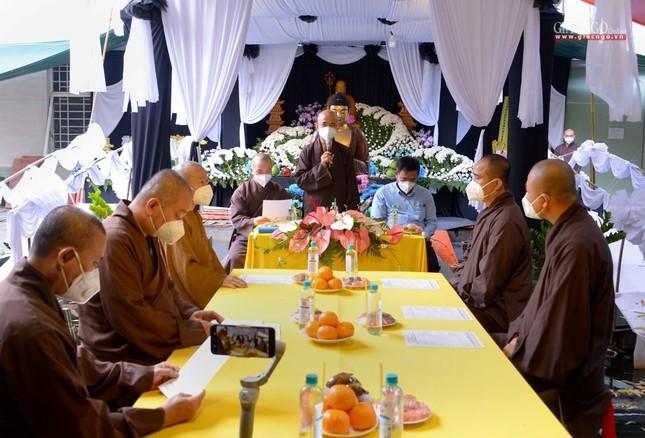Ban Trị sự GHPGVN TP.HCM thăm các chùa Vĩnh Nghiêm, Giác Ngộ, Tường Nguyên, Nam Thiên Nhất Trụ ảnh 5
