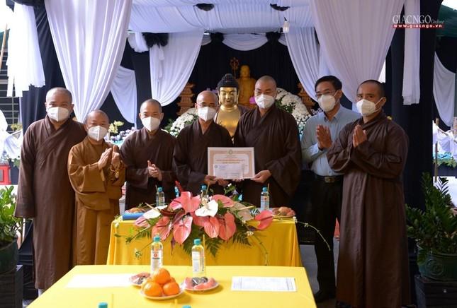 Ban Trị sự GHPGVN TP.HCM thăm các chùa Vĩnh Nghiêm, Giác Ngộ, Tường Nguyên, Nam Thiên Nhất Trụ ảnh 6