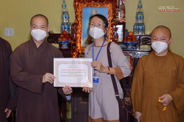 Ban Trị sự GHPGVN TP.HCM thăm các chùa Vĩnh Nghiêm, Giác Ngộ, Tường Nguyên, Nam Thiên Nhất Trụ ảnh 29