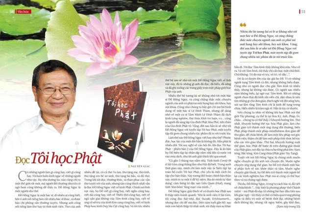 """Đọc """"Tôi học Phật"""" của Đỗ Hồng Ngọc ảnh 1"""