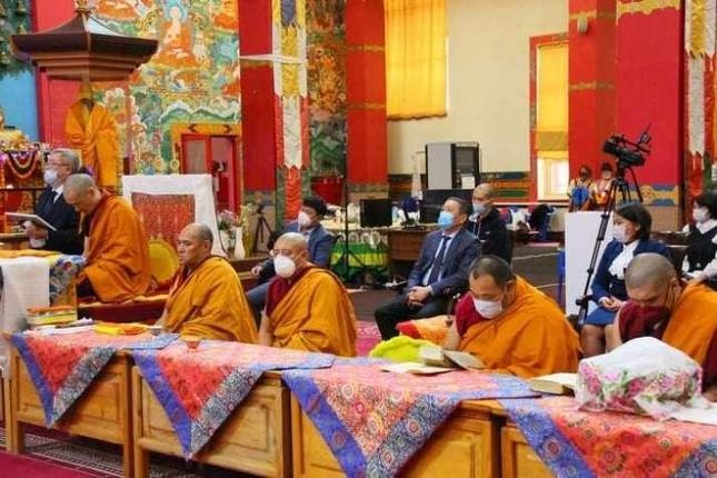 Tu viện Chùa Vàng Thích Ca kỷ niệm 15 năm thành lập ảnh 1