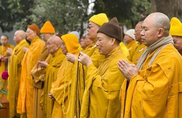 Nam Định: Tưởng niệm Tiểu tường Trưởng lão Hòa thượng Thích Minh Tâm ảnh 3