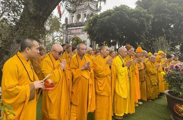 Nam Định: Tưởng niệm Tiểu tường Trưởng lão Hòa thượng Thích Minh Tâm ảnh 2