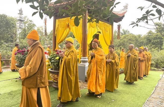 Nam Định: Tưởng niệm Tiểu tường Trưởng lão Hòa thượng Thích Minh Tâm ảnh 4