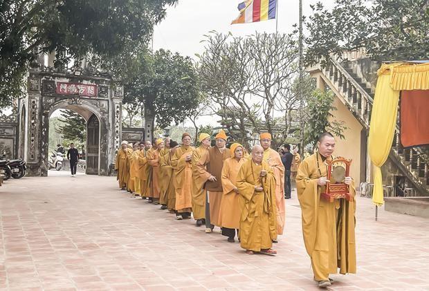 Nam Định: Tưởng niệm Tiểu tường Trưởng lão Hòa thượng Thích Minh Tâm ảnh 1