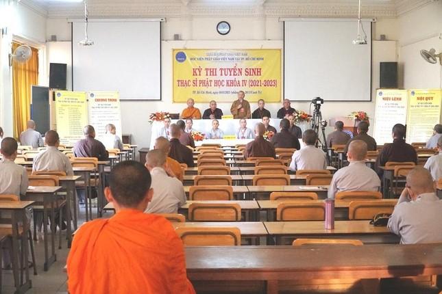 TP.HCM: Học viện tổ chức thi tuyển sinh Thạc sĩ Phật học khóa IV ảnh 2