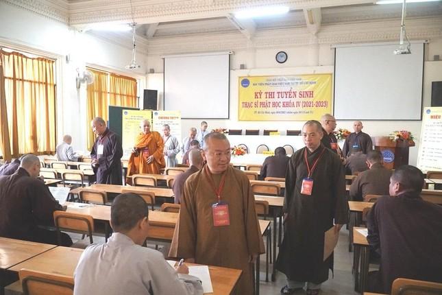 TP.HCM: Học viện tổ chức thi tuyển sinh Thạc sĩ Phật học khóa IV ảnh 4
