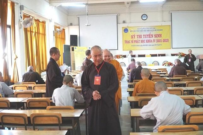 TP.HCM: Học viện tổ chức thi tuyển sinh Thạc sĩ Phật học khóa IV ảnh 5