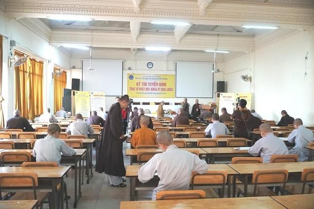 TP.HCM: Học viện tổ chức thi tuyển sinh Thạc sĩ Phật học khóa IV ảnh 6
