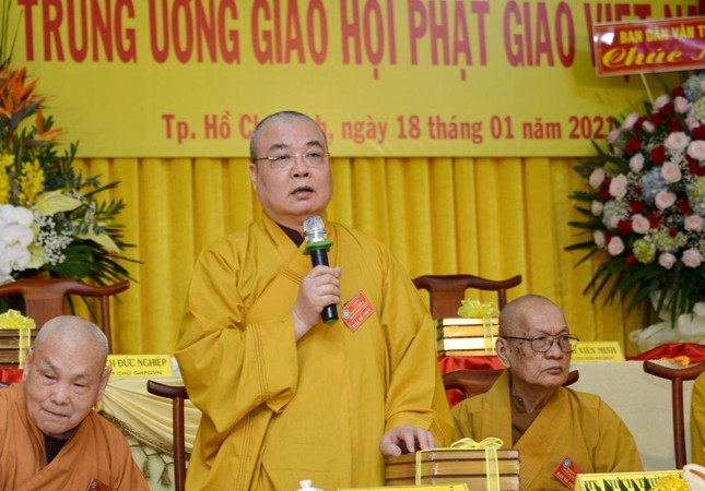 Khai mạc Hội nghị kỳ 5 - khóa VIII Trung ương GHPGVN ảnh 14