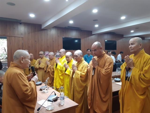 Lãnh đạo Phật giáo và chính quyền Đồng Tháp chúc Tết Trung ương Giáo hội ảnh 1