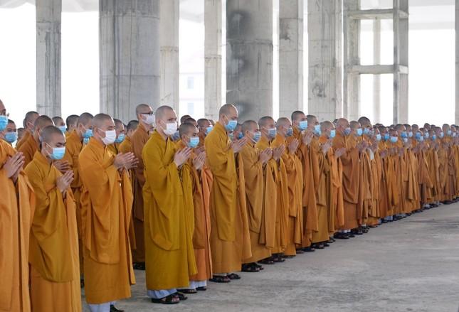 Học viện Phật giáo Việt Nam tại TP.HCM cất nóc chánh điện ảnh 8