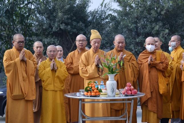 Học viện Phật giáo Việt Nam tại TP.HCM cất nóc chánh điện ảnh 14
