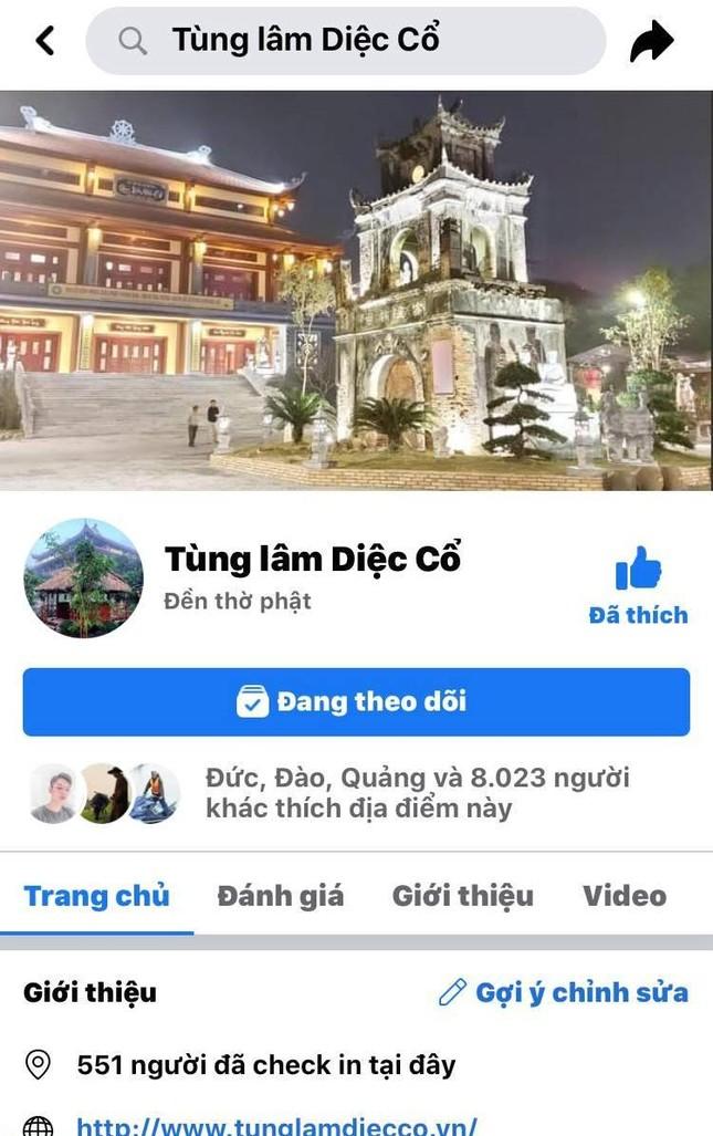 """Giả mạo fanpage """"Tùng Lâm Diệc Cổ"""" vận động từ thiện ảnh 1"""
