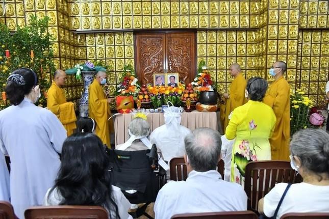 Lễ cầu siêu nhạc sĩ Lam Phương tại chùa Giác Ngộ ảnh 1