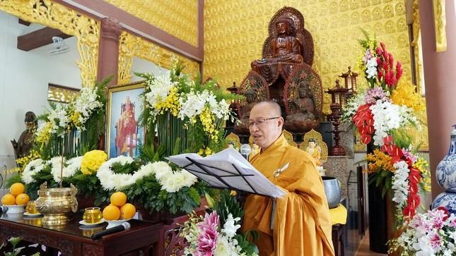 BR-VT: Tưởng niệm Đại lão Hòa thượng Thích Đồng Huy ảnh 1