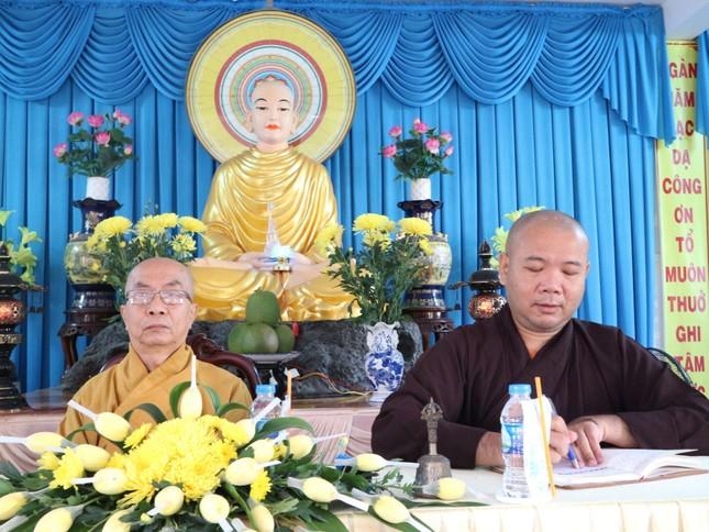 Bến Tre: Phân ban Ni giới tỉnh tổng kết, triển khai Phật sự ảnh 1