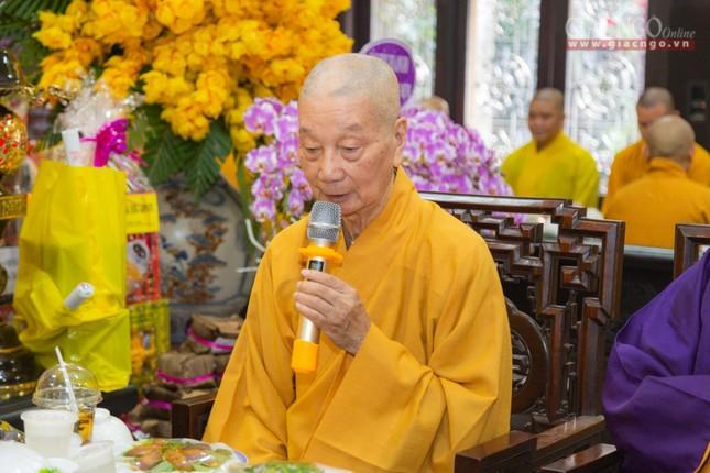 Trang nghiêm tưởng niệm Trưởng lão Hòa thượng Thích Thanh Kiểm ảnh 5
