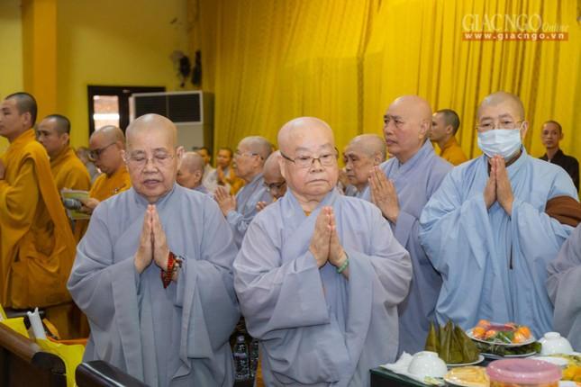 Trang nghiêm tưởng niệm Trưởng lão Hòa thượng Thích Thanh Kiểm ảnh 6
