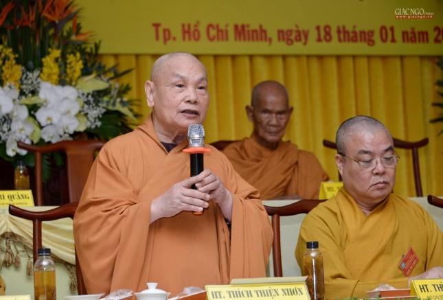 Bế mạc Hội nghị kỳ 5 - khóa VIII, thông qua danh sách tấn phong giáo phẩm Tăng Ni ảnh 3