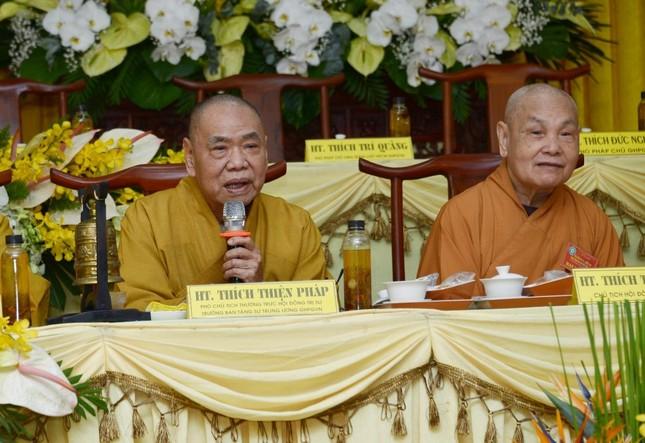 Bế mạc Hội nghị kỳ 5 - khóa VIII, thông qua danh sách tấn phong giáo phẩm Tăng Ni ảnh 7
