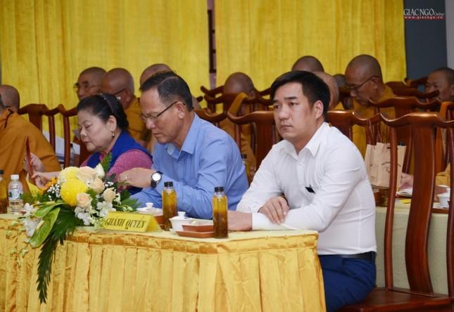 Bế mạc Hội nghị kỳ 5 - khóa VIII, thông qua danh sách tấn phong giáo phẩm Tăng Ni ảnh 4