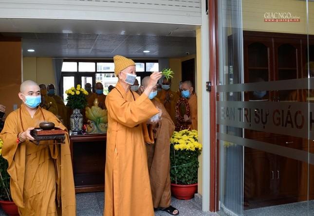 Họp mặt đầu năm, mở cửa văn phòng Ban Trị sự GHPGVN TP.HCM ảnh 8