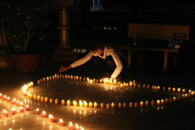 Đồng Nai: Cúng đèn rằm tháng Giêng tại thiền viện Phước Sơn ảnh 1