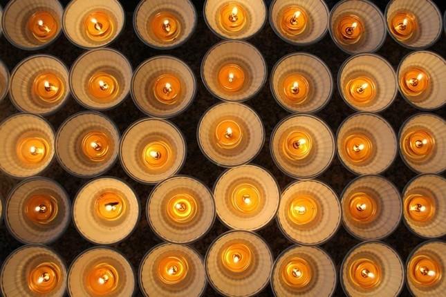 Đồng Nai: Cúng đèn rằm tháng Giêng tại thiền viện Phước Sơn ảnh 5