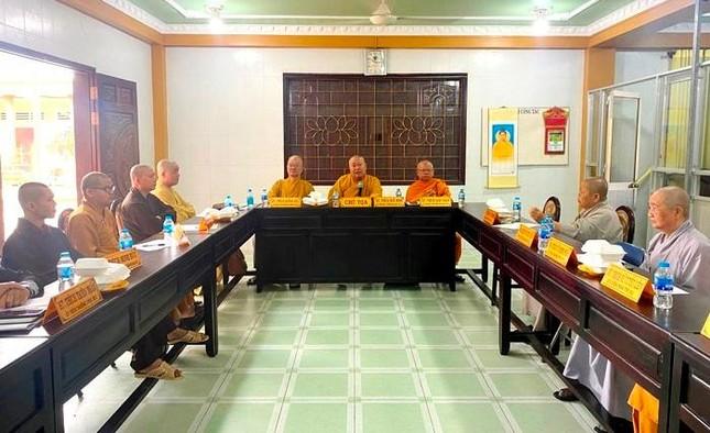 Tiền Giang: Ban Trị sự Phật giáo tỉnh họp triển khai hoạt động Phật sự ảnh 2