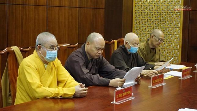 TP.HCM: Ban Chỉ đạo Đại hội họp về nhân sự cùng Thường trực Ban Trị sự quận huyện ảnh 5