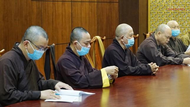 TP.HCM: Ban Chỉ đạo Đại hội họp về nhân sự cùng Thường trực Ban Trị sự quận huyện ảnh 9