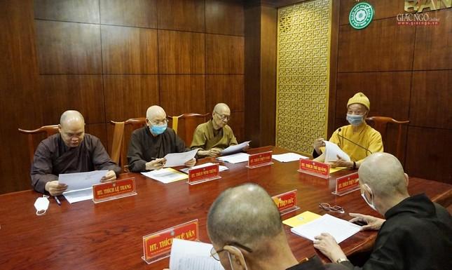 TP.HCM: Ban Chỉ đạo Đại hội họp về nhân sự cùng Thường trực Ban Trị sự quận huyện ảnh 2
