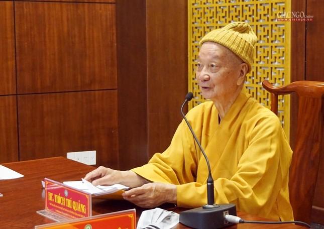 Ban Thường trực Ban Trị sự GHPGVN TP.HCM họp, triển khai các hoạt động Phật sự đầu năm ảnh 1
