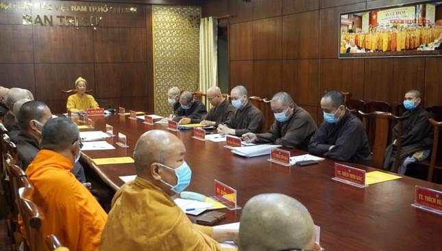 Ban Thường trực Ban Trị sự GHPGVN TP.HCM họp, triển khai các hoạt động Phật sự đầu năm ảnh 2