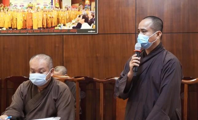 Ban Thường trực Ban Trị sự GHPGVN TP.HCM họp, triển khai các hoạt động Phật sự đầu năm ảnh 7