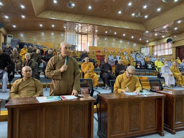Kiên Giang: Ban Trị sự Phật giáo tỉnh họp thường kỳ về Tăng sự ảnh 1