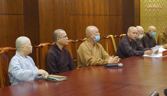 Ban Trị sự TP.HCM thảo luận các Phật sự hướng đến Kỷ niệm 40 năm thành lập GHPGVN ảnh 5