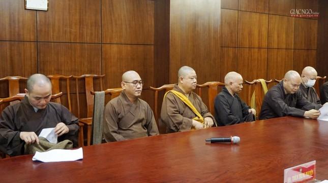 Ban Trị sự TP.HCM thảo luận các Phật sự hướng đến Kỷ niệm 40 năm thành lập GHPGVN ảnh 6