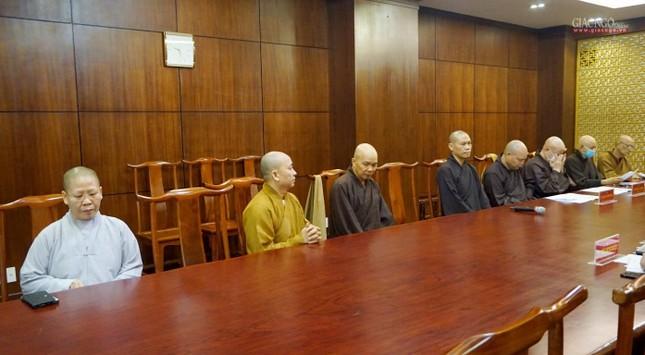 Ban Trị sự TP.HCM thảo luận các Phật sự hướng đến Kỷ niệm 40 năm thành lập GHPGVN ảnh 7