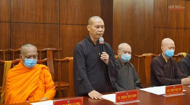 Ban Trị sự TP.HCM thảo luận các Phật sự hướng đến Kỷ niệm 40 năm thành lập GHPGVN ảnh 3